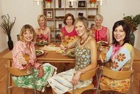 women following diet for menopause