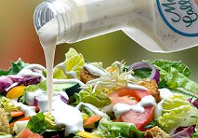 high calorie salad dressing