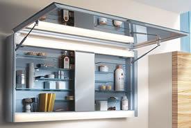 organized home medicine cabinet