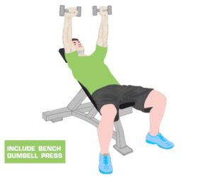 bench dumbell press